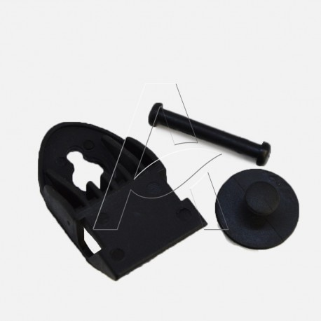 Kit funghetto + rullino + perno per maschera Panarea