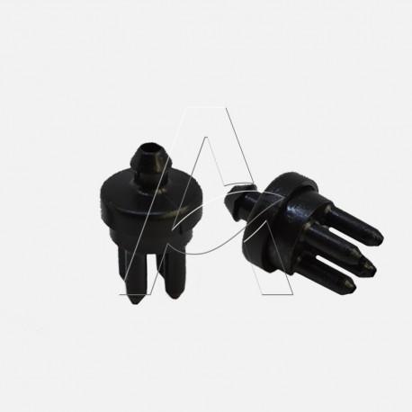 Innesto a 4 uscite per microtubo D. interno 3 mm - Irritec confezione da 50 pz