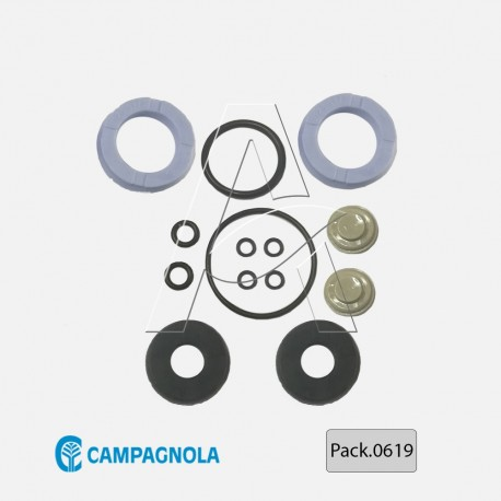 KIT GUARNIZIONI CAMPAGNOLA PER ABBACCHIATORE GOLIA-DIABLO 1800 EVO-TUONO PACK.0619