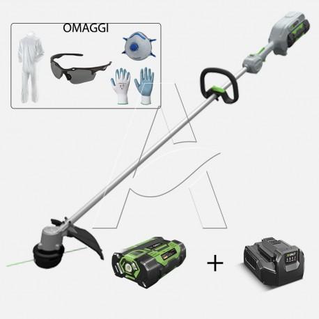 Kit Decespugliatore EgoPower ST 1300 E completo di batteria 2,5 Ah e caricabatteria standard