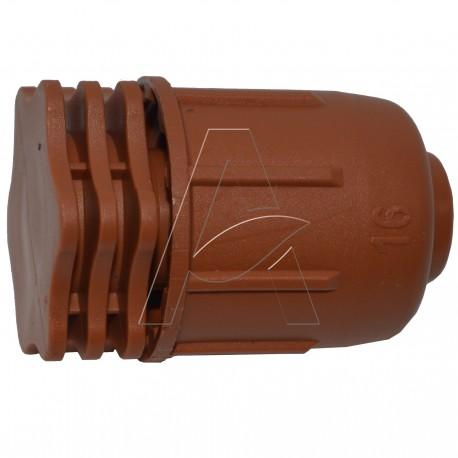 Tappo fine linea D. 16 mm per ala gocciolante e tubi BD pn6 e pn4 - Linea Easy Pack Irritec