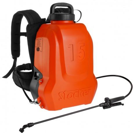 Pompa a zaino elettrica a litio Ergo 15 litri Li-Ion FPM art 227 - Stocker