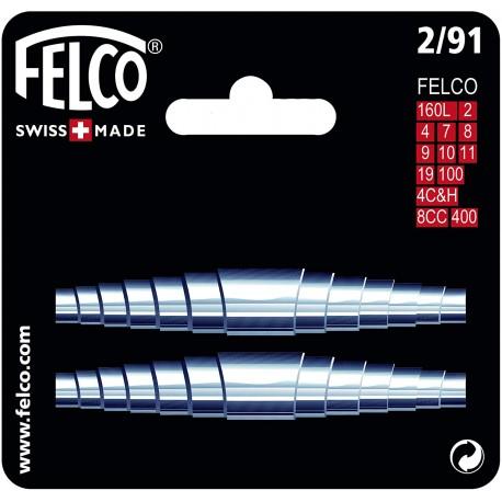 Felco 5/91 - Kit ricambio 2 molle per forbici Felco 5,13