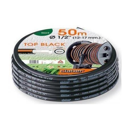 """Tubo antitorsione TOP BLACK 1/2"""" (12 - 17mm) 50 metri - CLABER 9036"""