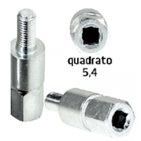 Inserto adattatore quadrato 5,4 mm