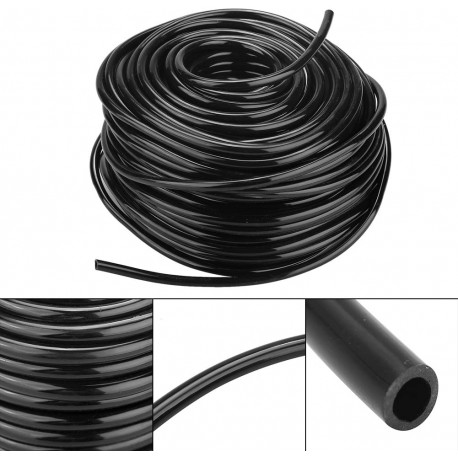 Microtubo in PVC/201 - D. 5,5 x 3,0 mm in simil gomma - bobina 10 m