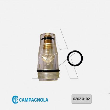 Cupola lubrificatore olio motocompressore Campagnola hobby - Cod. 0202.0102 Originale Campagnola