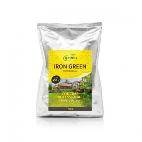Concime a base di Ferro, Zolfo e Magnesio - IRON GREEN granulare | Sacco 10 Kg