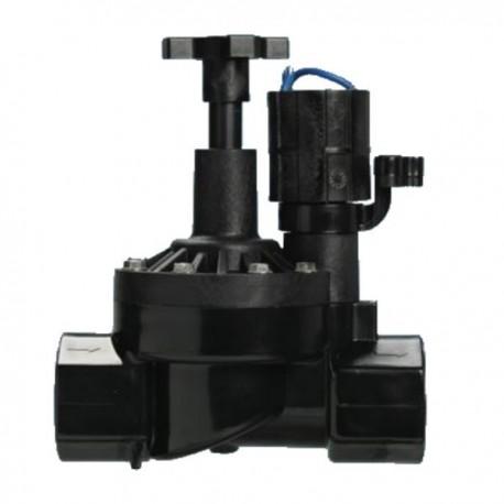"""Elettrovalvola irrigazione 1"""" - 24 VAC Femmina mod. HRV - con controllo di flusso - Orbit"""