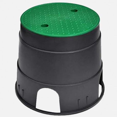 Pozzetto ispezione circolare per elettrovalvole 32x22,5x25 cm PCZ - Irritec