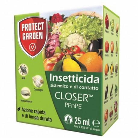 Insetticida sistemico e di contatto CLOSER PFnPE - Conf 25 ml