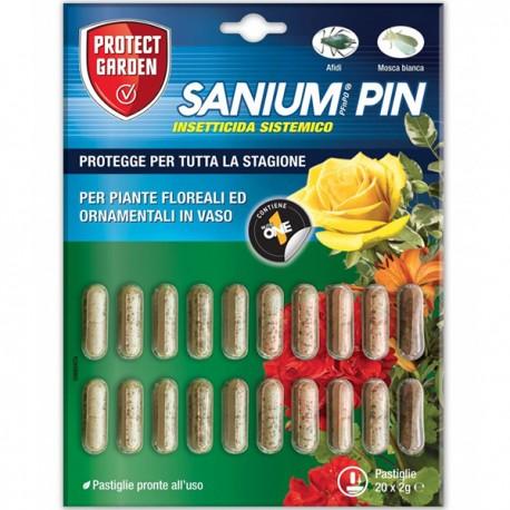 Insetticida sistemico PFnPO Sanium PIN - 20 pastiglie da 2 gr