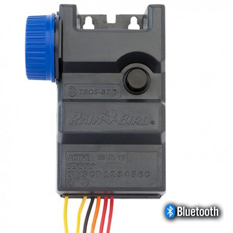Programmatore centralina irrigazione Bluetooth a pile 9V 6 zone TBOS-BT6 - Rain Bird