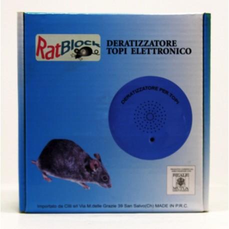 Derettizzatore topi elettrico RatBlock