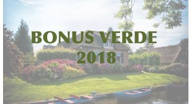"""""""Bonus Verde 2018"""", un incentivo per i giardini"""